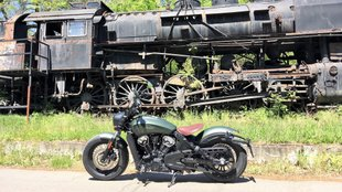 Indian Scout Bobber Twenty - Macsók motorja