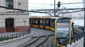 Nem jár a villamos hétvégén a Katinyi mártírok parkja és a Bécsi út között