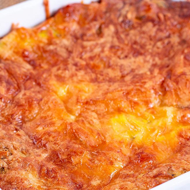Rakott karfiol darált hússal és sajttal megpakolva: szaftos és elképesztően finom