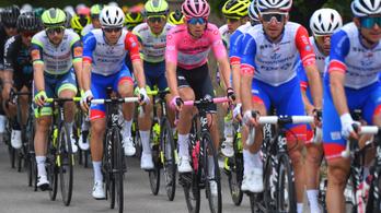 Valter Attila megvédte a rózsaszín trikót a Giro 7. szakaszán!