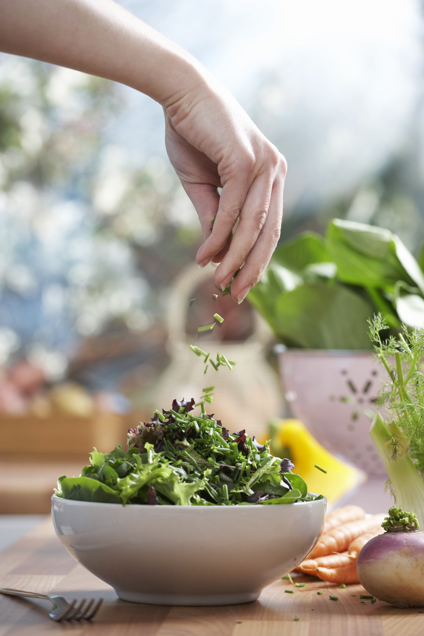 salátakészítés álló ok