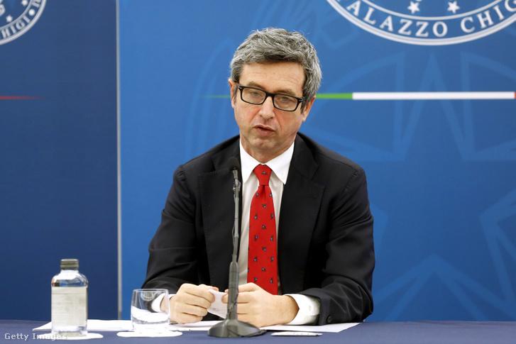 Roberto Speranza olasz egészségügyi miniszter