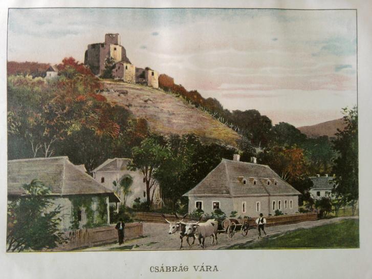 Csábrág - Borovszky