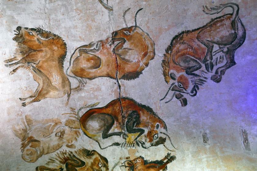 Az Altamira-barlang rajzai.