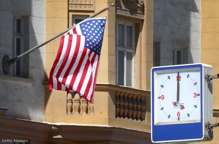Az USA moszkvai nagykövetsége