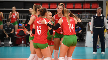Mesternégyes: a női röpiválogatott kijutott az Európa-bajnokságra