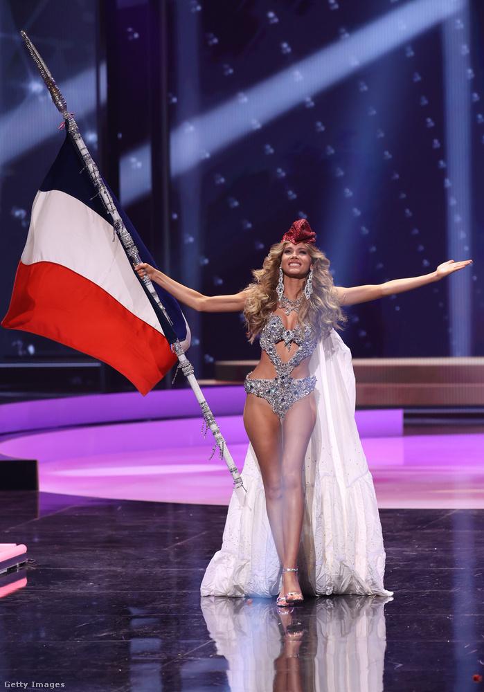Amandine Petit Franciaországot képviseli.