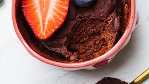 Mogyoróvajas-eperlekváros brownie mikróban? Gyors édesség, ha nincs sok időd a desszertre