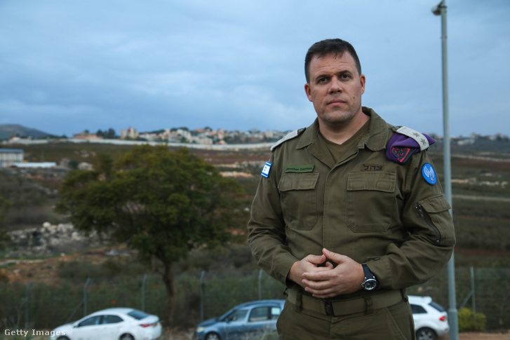 Jonathan Conricus, az izraeli hadsereg szóvivője