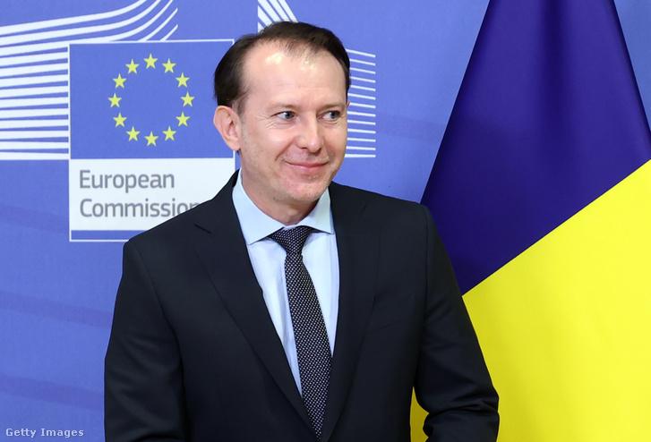 Florin Cîțu román miniszterelnök
