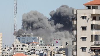 Az AP hírügynökség irodáját is lebombázták az izraeli rakétaháborúban
