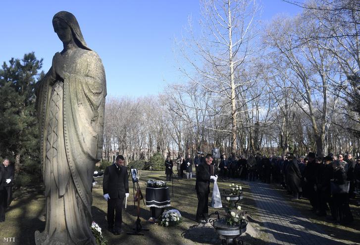 Tandori Dezső temetése 2019 március 4-én