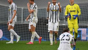 A Juventus bajnokveréssel maradt életben