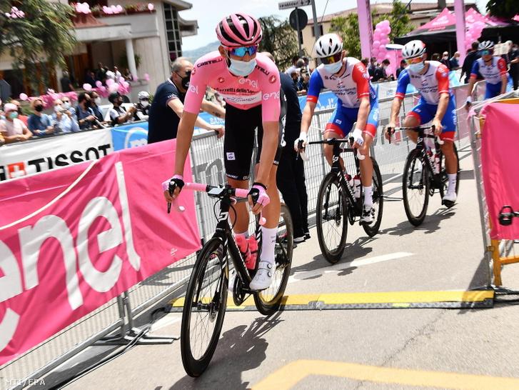 Valter Attila a 104. Giro d'Italia olasz országúti kerékpáros körverseny hetedik, Notaresco és Termoli közötti 181 kilométeres szakaszában 2021. május 14-én
