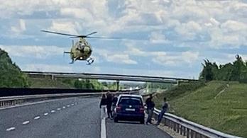 Baleset miatt teljes útlezárás van az M6-oson