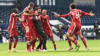 A 95. percben fejelt győztes gólt a Liverpool kapusa