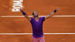Nadal legyőzte Djokovicsot és beállította rekordját is