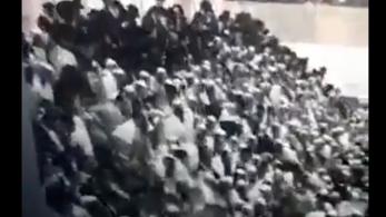 Ketten meghaltak Izraelben, amikor összeomlott egy zsinagóga emelvénye