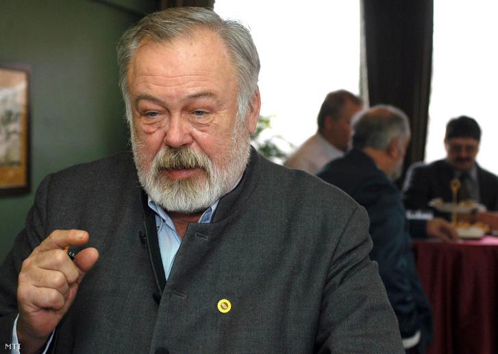 Szeremley Huba 2006-ban, a Magyar Gazda és Polgárpárt elnökeként