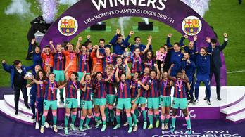 A Barca kiütötte a Chelsea-t a női BL-döntőben