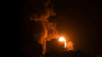 Nincs béke a Gázai övezetben, éjjel is folytatódott a rakétaháború