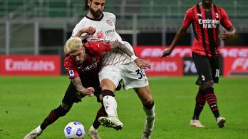 A BL-indulásba kerülhet a Milannak az újabb botlás