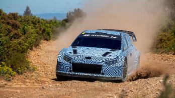 A Hyundai is elkezdte tesztelni saját hibrid WRC gépét