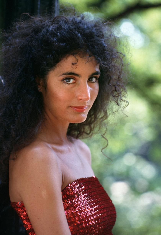 Olasz Ági 1988 májusában a Színház- és Filmművészeti Főiskola végzős hallgatójaként.