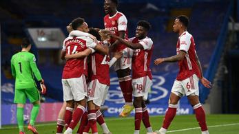 Csak az Arsenal előzi meg a topligák csapatai közül a Barcát