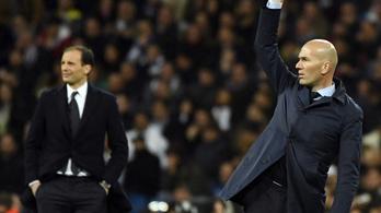 Olasz tréner válthatja Zidane-t a Real Madrid kispadján