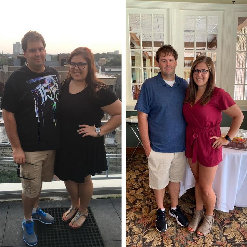 Emma és férje, Ryan egy év alatt több mint 50 kilót fogytak közösen. Egy 15 hónapon át tartó fogyókúrás programban vettek részt, ahol dietetikus szakember segítségével sikerült megszabadulniuk több tíz kilótól. Kevesebb szénhidrátot ettek, jelentősen csökkentették a kalóriabevitelüket, és rendszeresen sportolni kezdtek.