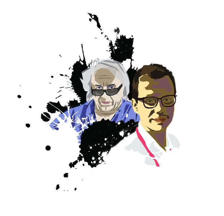 Carlo Pernat és Albert Valera