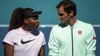 Roger Fereder még Serena Williams számára is példakép
