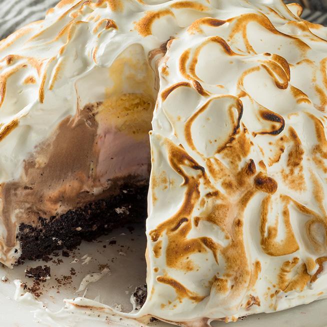 Isteni fagyitorta úgy, ahogy az amerikaiak készítik: a Baked Alaska látványos és nagyon finom