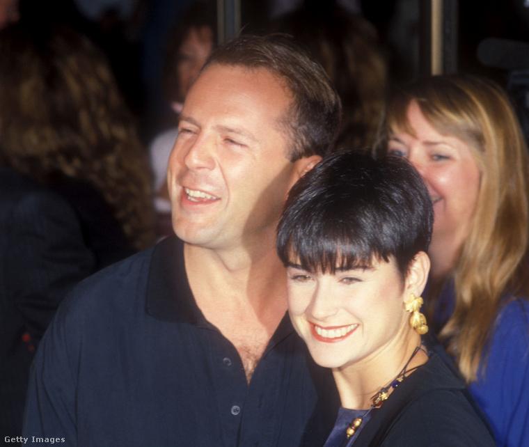Íme, a szülők: Bruce Willis és Demi Moore 1989-ben