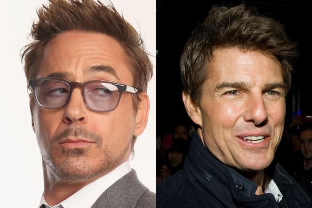 Vasember: Robert Downey Jr., Tom Cruise