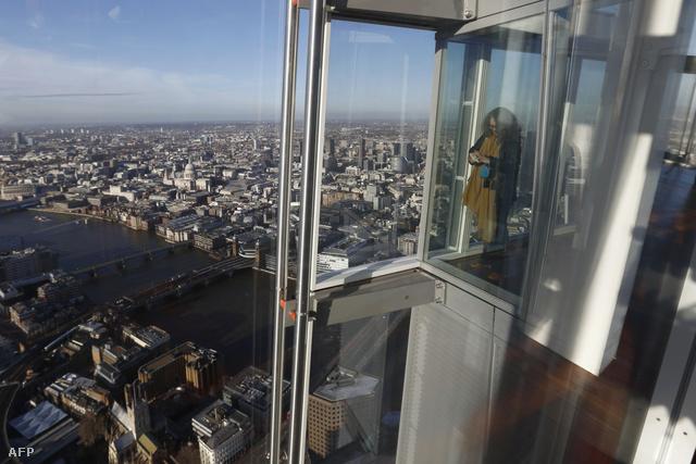 London látképe a magasból