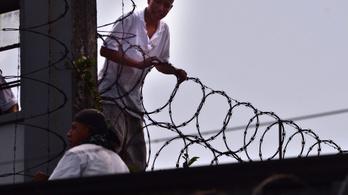 Zendülés tört ki egy guatemalai börtönben
