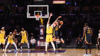 Megúszta a Lakers, nyaralhat a Spurs