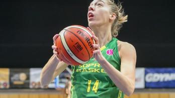 Határ Bernadett bemutatkozott a női NBA-ben
