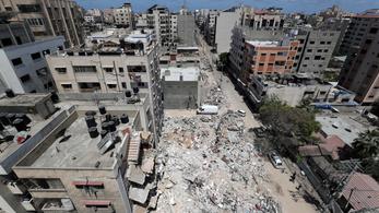 Csak nyolc órát tartott a tűzszünet Gázában