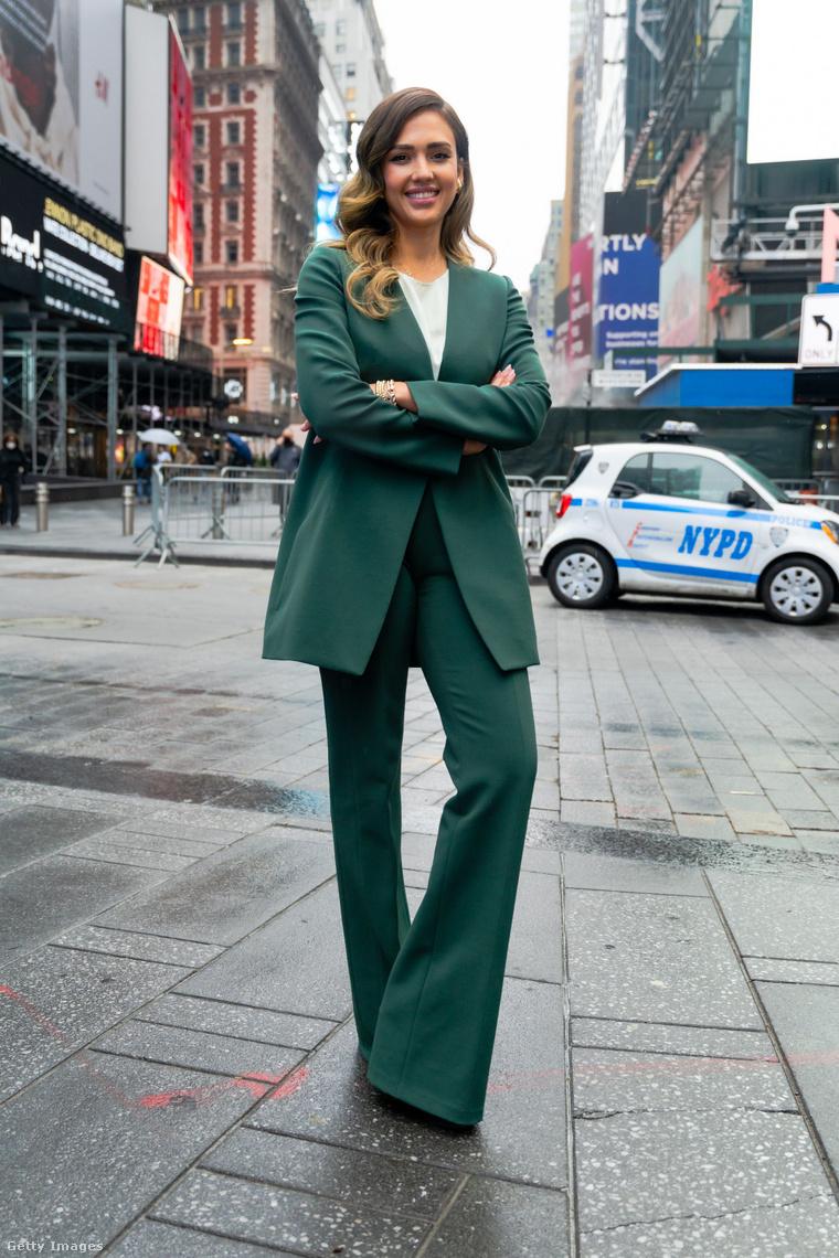 Jessica Alba egy, a történtekkel összefüggésben nem álló fotón
