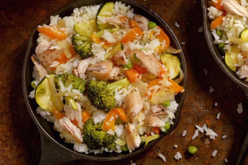 Zöldséges rizses hús jó szaftosan: a nagy kedvenc így még finomabb