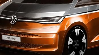 Újabb morzsákat szórt el a Volkswagen az új Multivanról