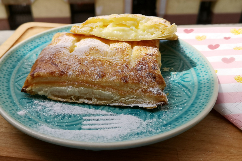 vaníliapudingos párna recept