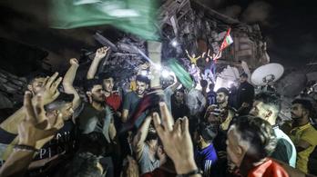 Életbe lépett a tűzszünet, de a Hamász még rajta tartja az ujját a ravaszon