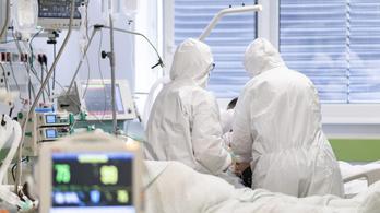 Minden mutató javul, 200 alatt a lélegeztetőgépen lévők száma