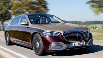 Magyarországra is jön a Maybach-Mercedes S osztály