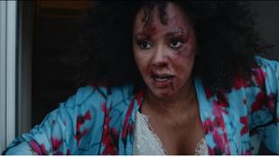 Mel B rémisztő videóban menekül bántalmazója elől