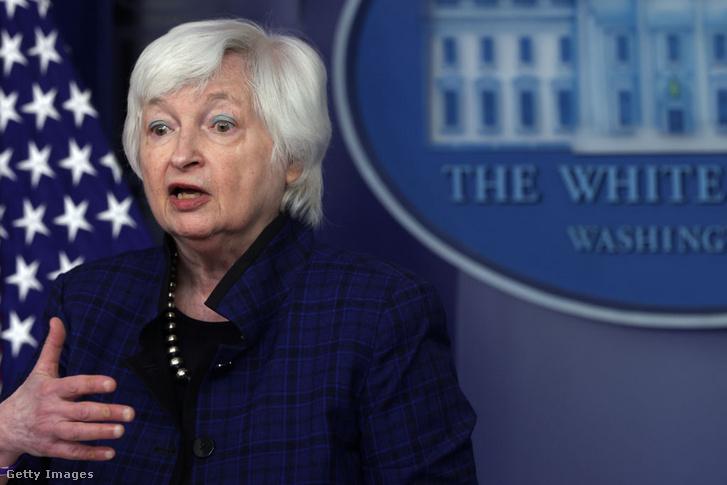 Janet Yellen, a FED korábbi elnöke, jelenleg pénzügyminiszter
